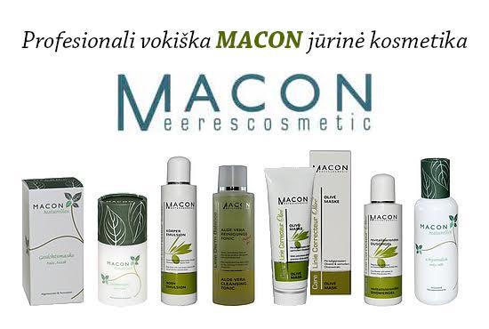 MACON jūrinė kosmetika